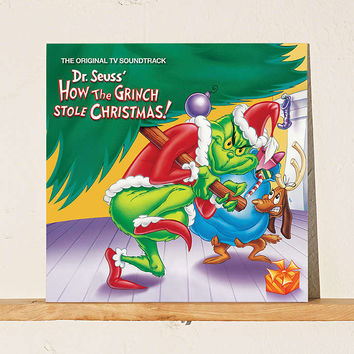 Various Artists - Dr. Suesss How The Grinch Stole Christmas Soundtrack LP - Urban Outfitters
