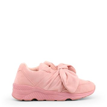 Xti Pink Suede Sneakers