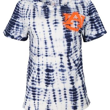 Official NCAA Auburn University Tigers Aubie Tiger WAR EAGLE! Women's Short Sleeve Alligator Football T-Shirt