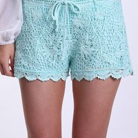 MARLEY LACE SHORTS , DRESSES, TOPS, BOTTOMS, JACKETS & JUMPERS, ACCESSORIES, SALE, PRE ORDER, NEW ARRIVALS, PLAYSUIT,,Pants Australia, Queensland, Brisbane