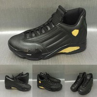 2017 New arrival Air Retro 14 DMP Men Basketball Shoes Retro 14s DMP shoes AAA+ qualit