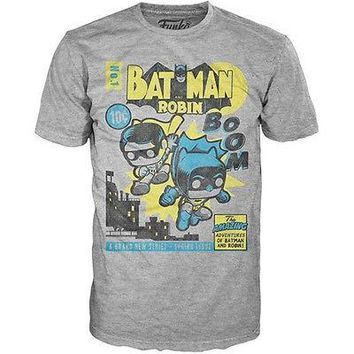Funko Pop Tees: DC Comics Classic Batman and Robin T-Shirt (Small)
