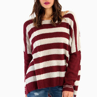 Pearly Stripes Sweater $42