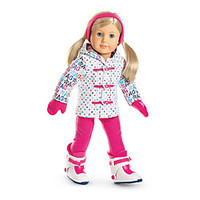 "American Girl® Clothing: ""Hit the Slopes"" Outfit for Dolls + Charm"