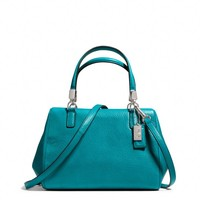 Coach :: Madison Mini Satchel In Leather