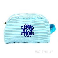 Monogrammed Large Cosmetic Bag | Marleylilly