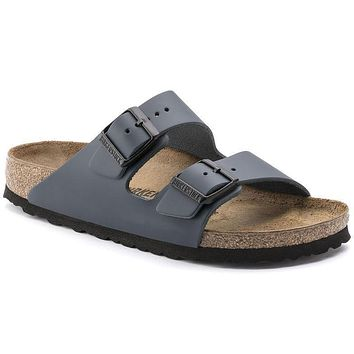 Birkenstock Arizona Natural Leather Blue 0051151/0051153 Sandals