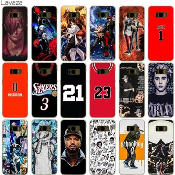 Lavaza Iori Kof 97K Dash Irving James Rose Justin Bieber Kanye West Case for Samsung Galaxy S5 S6 S7 Edge S9 S8 Plus
