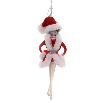 De Carlini ROCKETTE ORNAMENT Glass Italian Girl Dancer Christmas Do7410 B