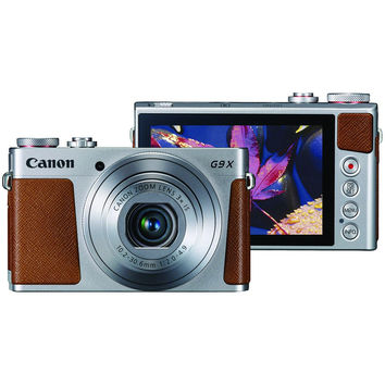 Canon 20.0-megapixel Powershot G9x Digital Camera (silver)