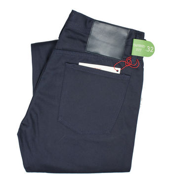 UB208 Tapered Fit Navy Chino Selvedge - Old Fit