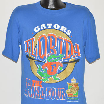 90s Florida Gators 1994 Final Four NCAA t-shirt Medium