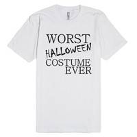 Is This The Worst???-Unisex White T-Shirt