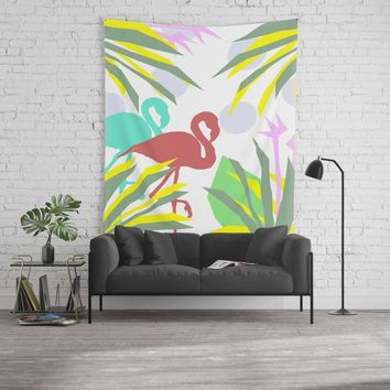 Flamingo jungle by ARTbyJWP
