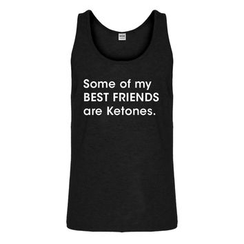 Tank Some of my Best Friends are Ketones Mens Jersey Tank Top