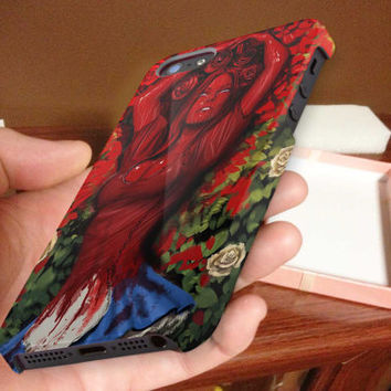 alice in blood 3D iPhone Cases for iPhone 4,iPhone 4s,iPhone 5,iPhone 5s,iPhone 5c,Samsung Galaxy s3,samsung Galaxy s4