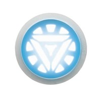 Official Costumes - Iron Man 3 Arc Reactor Glow Accessory - Costume Accessories