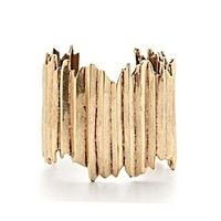 Gold Angular Cuff - Accessories - Lucky Brand Jeans
