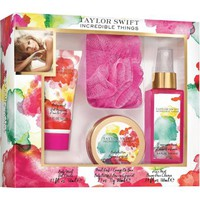 Taylor Swift Incredible Things Fragrance Gift Set, 4 pc - Walmart.com
