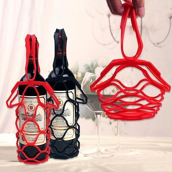 Silicone Wine Bottle Carrier