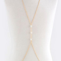 3 Pearls Body Chain