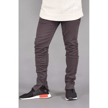 Rich V. 4 Joggers w/ Ankle Zip (Charcoal)