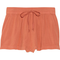 ENZA COSTA Voile shorts – 60% at THE OUTNET.COM