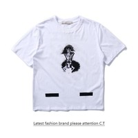 Cheap Women's and men's OFF-WHITE t shirt for sale 85902898_0202