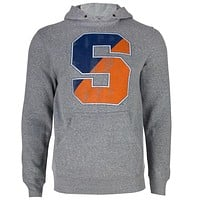 Syracuse Orage - Distressed S Logo Tri-Blend Adult Pullover Hoodie