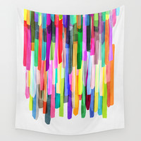 Colorful Stripes 4 Wall Tapestry by Mareike Böhmer Graphics