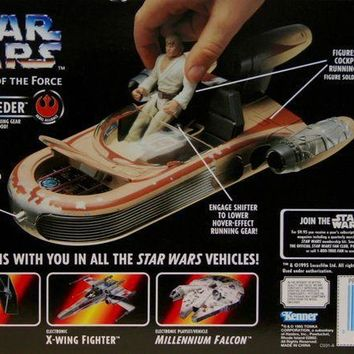 Star Wars Power Of The Force Landspeeder Vehicle