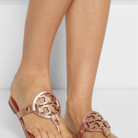 Tory Burch - Miller metallic leather sandals