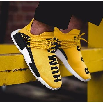 Best Online Sale Pharrell Williams x Adidas Consortium NMD Human Race Yellow Sport Run