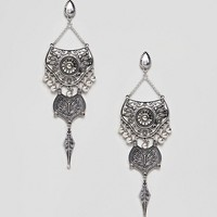 Sacred Hawk Faux Pearl Drop Earrings at asos.com