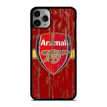 ARSENAL WOODEN LOGO iPhone Case Cover