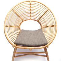 Ringo Low Rattan Chair - Haus Interior