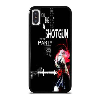 THE PRETTY RECKLESS QUOTES iPhone X Case Cover