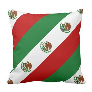 Flag of Mexico Cushion
