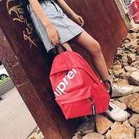 College Comfort Hot Deal On Sale Back To School Casual Stylish Korean Couple Backpack [11992380755]