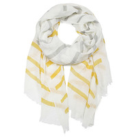 Lemonade Stand  Cotton Oversized Scarf