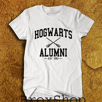 Hogwarts Alumni Shirt Harry Potter Shirts T-Shirt Unisex Size Men Women Tee TShirt
