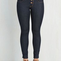Pinup Cropped Karaoke Songstress Jeans in Ankle Length