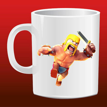 Clash Of Clans Barbarian for Mug Design