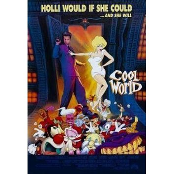 Cool World Movie Poster 11inch x 17 inch