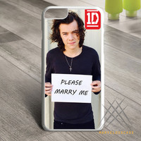 one direction harry styles please marry me Custom case for iPhone, iPod and iPad