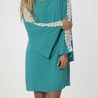 Wide Sleeve Dress