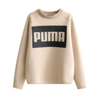 PUMA Casual long all-match turtleneck sweater with letters printed T-shirt top shrt