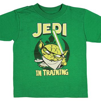 Mad Engine Star Wars Little Boys Yoda Jedi In Training T-Shirt