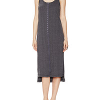 Free People Women's Venice Drop Needle Rib Dress - Black -