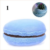 Pillow French macarons cute Round home pillow chair cushion gifts 21 colors